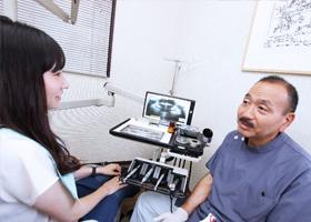 2 患者さまの一番の訴えをしっかりと聞いて、機能回復に努める